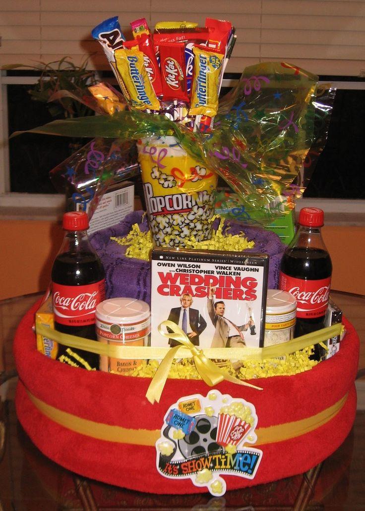 Best ideas about Movie Night Gift Basket Ideas . Save or Pin 25 best ideas about Movie night t basket on Pinterest Now.