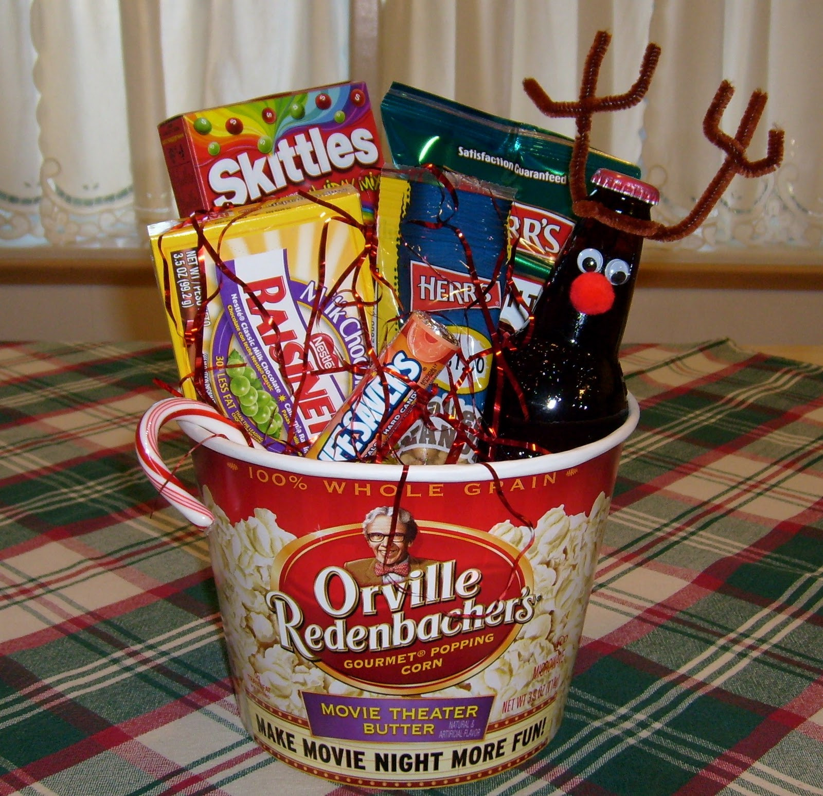 Best ideas about Movie Night Gift Basket Ideas . Save or Pin Happier Than A Pig In Mud Last minute t Now.