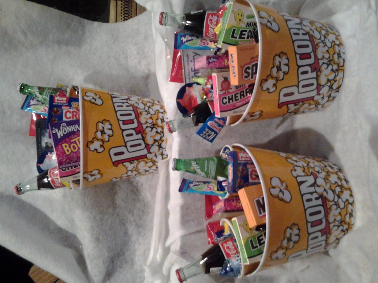 Best ideas about Movie Night Gift Basket Ideas . Save or Pin Movie Night Gift Basket on Storenvy Now.
