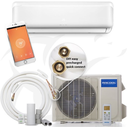 Best ideas about Mr Cool DIY Mini Split Review . Save or Pin MrCool DIY Series Ductless Mini Split Heat Pump System 17 Now.