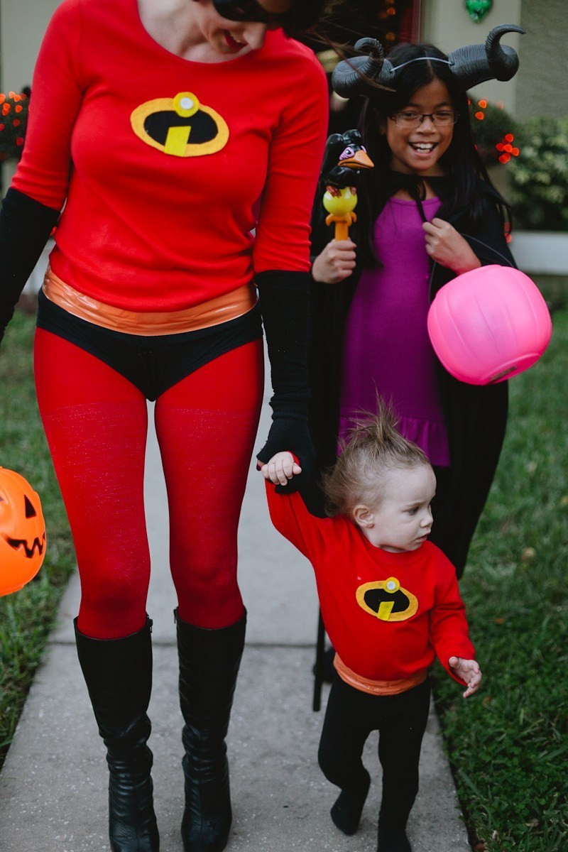 Best ideas about Mrs Incredible Costume DIY . Save or Pin An Incredible Weekend Easy DIY Incredibles Family Now.