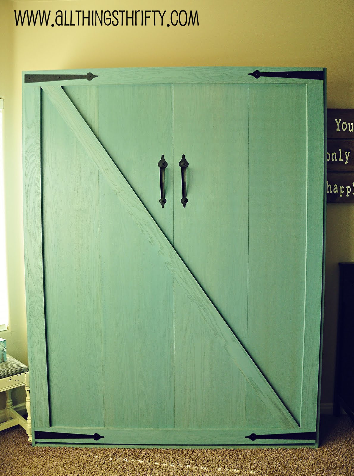 Best ideas about Murphy Bed DIY Kit . Save or Pin The Wall Bed is INSTALLED Now.