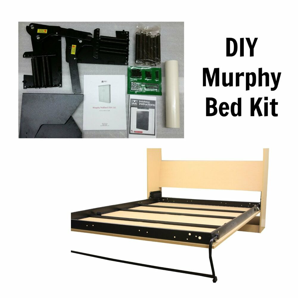 Best ideas about Murphy Bed DIY Kit . Save or Pin Queen Size DIY Murphy Bed Kit Vertical Murphy Wallbed Now.