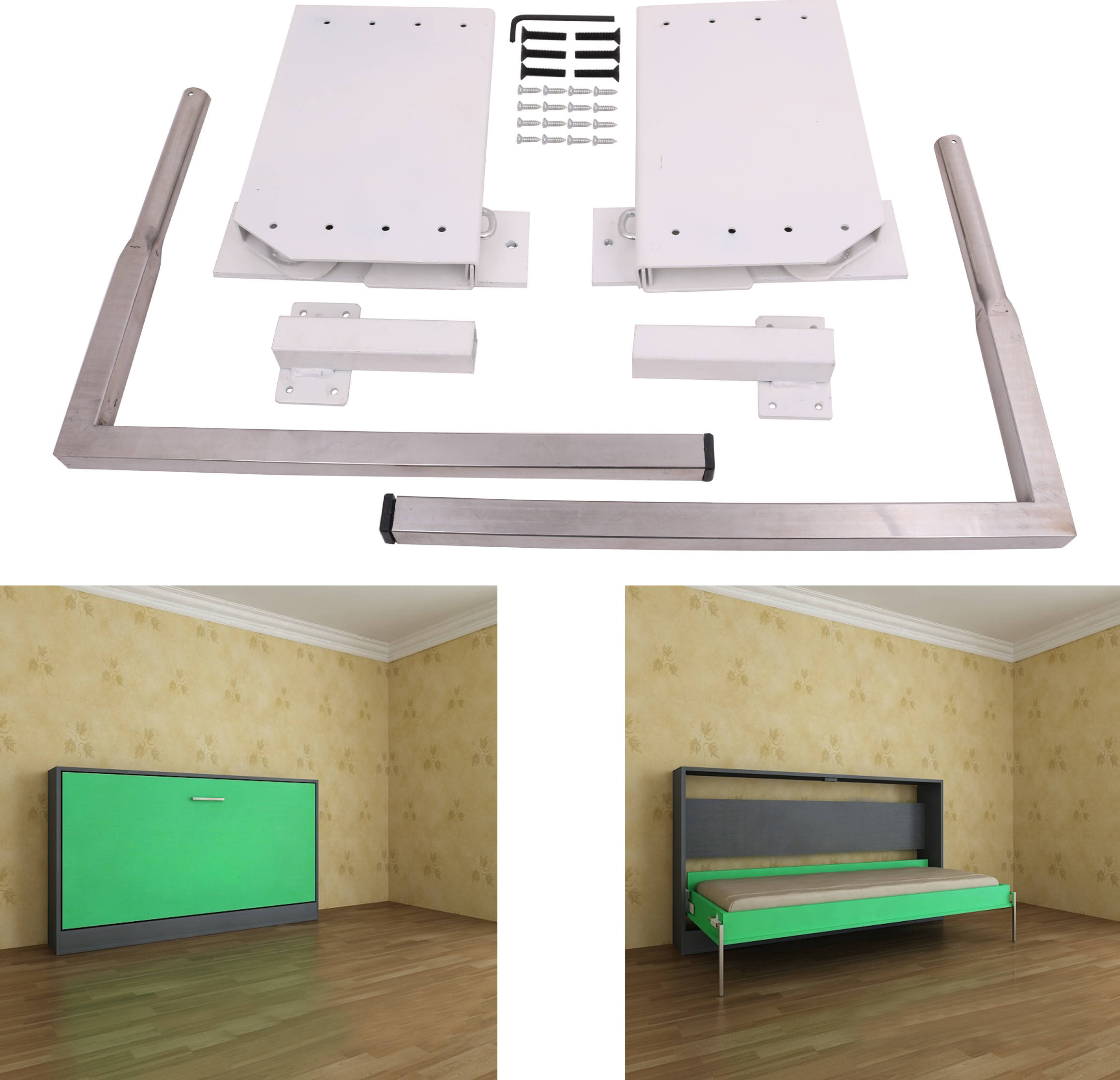 Best ideas about Murphy Bed DIY Kit . Save or Pin DIY Murphy Wall Bed Springs Mechanism Hardware Kit Now.