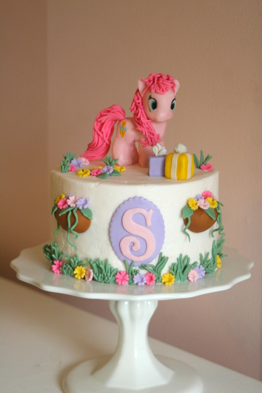 Best ideas about My Little Pony Birthday Cake . Save or Pin My Little Pony Cake With Pinkie Pie CakeCentral Now.
