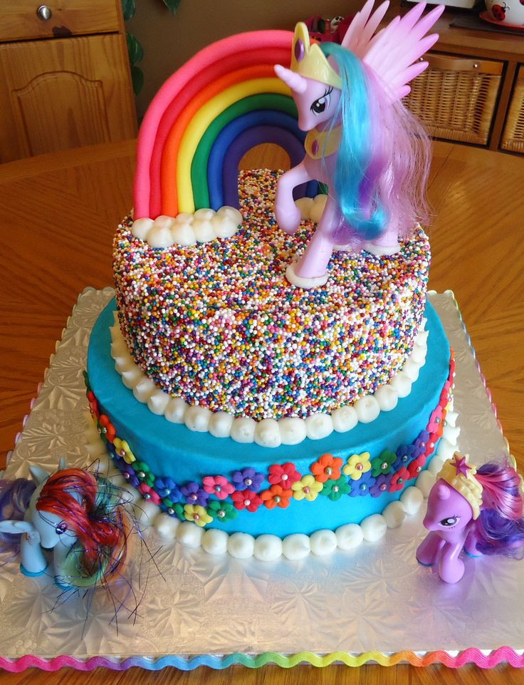 Best ideas about My Little Pony Birthday Cake . Save or Pin 17 Best ideas about Little Pony Cake on Pinterest Now.