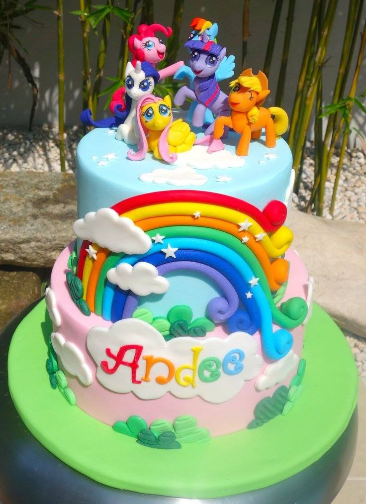 Best ideas about My Little Pony Birthday Cake . Save or Pin Best 25 My little pony cake ideas on Pinterest Now.
