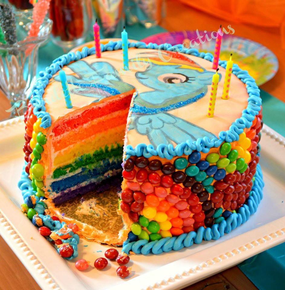 Best ideas about My Little Pony Birthday Cake . Save or Pin Burdette Family Creations E s My Little Pony Birthday Party Now.