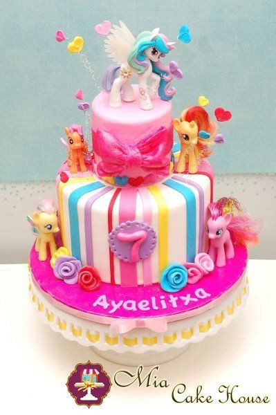 Best ideas about My Little Pony Birthday Cake . Save or Pin My Little Pony Cake … Ideas for the House Now.