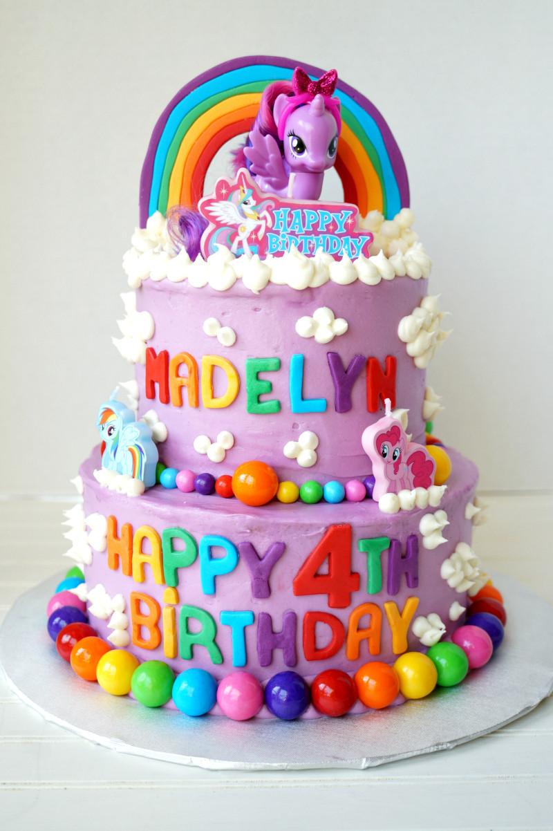 Best ideas about My Little Pony Birthday Cake . Save or Pin My Little Pony tiered birthday cake Now.