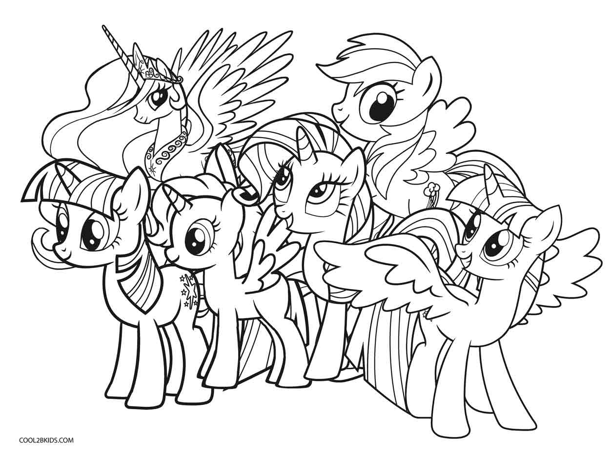 Best ideas about My Little Pony Coloring Pages For Kids . Save or Pin Free Printable My Little Pony Coloring Pages For Kids Now.