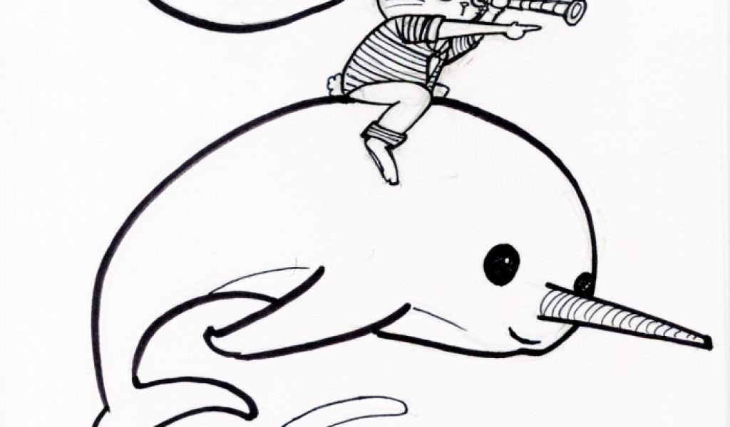 Best ideas about Narwhal Coloring Pages For Kids . Save or Pin Get This Narwhal Coloring Pages Kids Printable TRK35 Now.