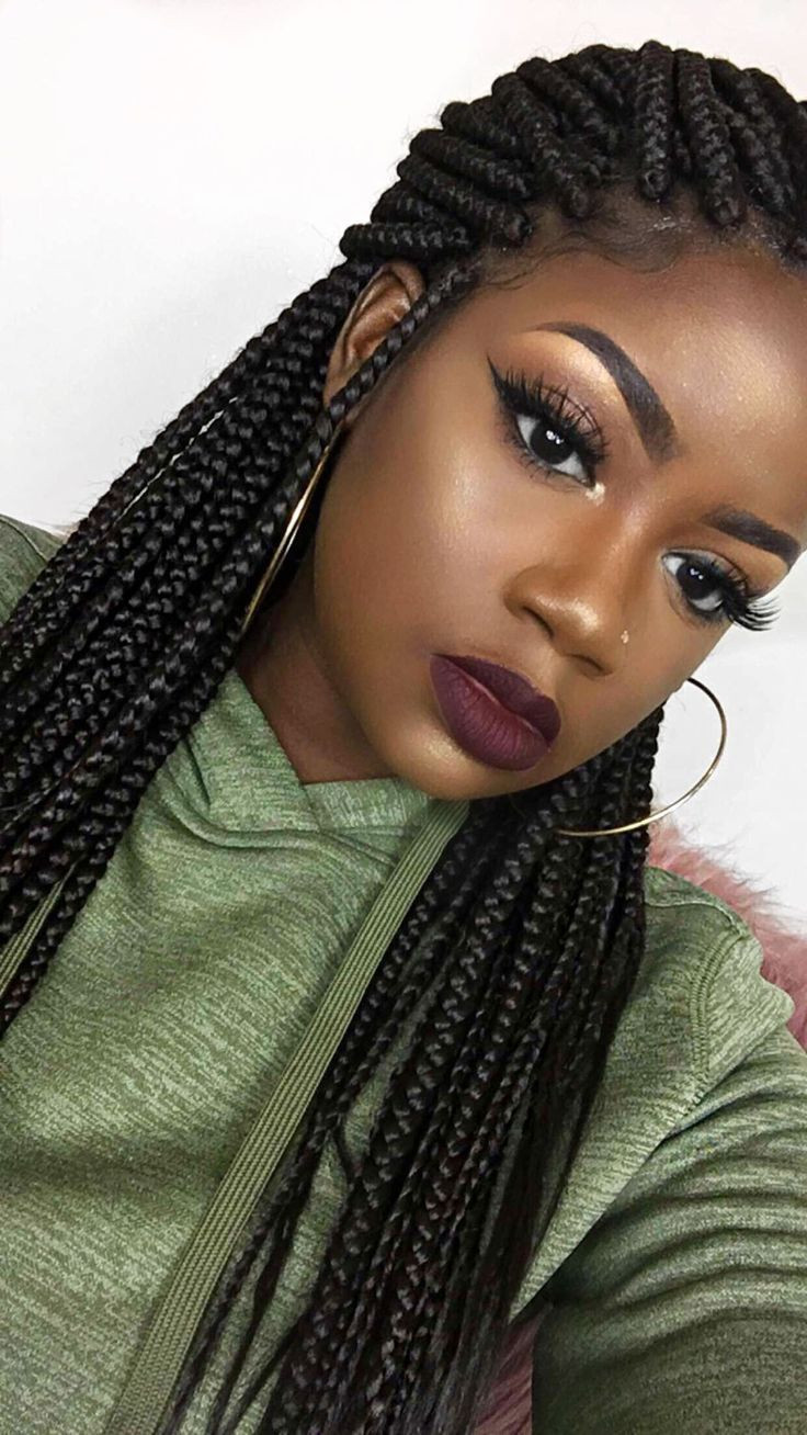 Best ideas about Natural Hairstyles Braids . Save or Pin 8780 best Box Braids Hairstyles images on Pinterest Now.