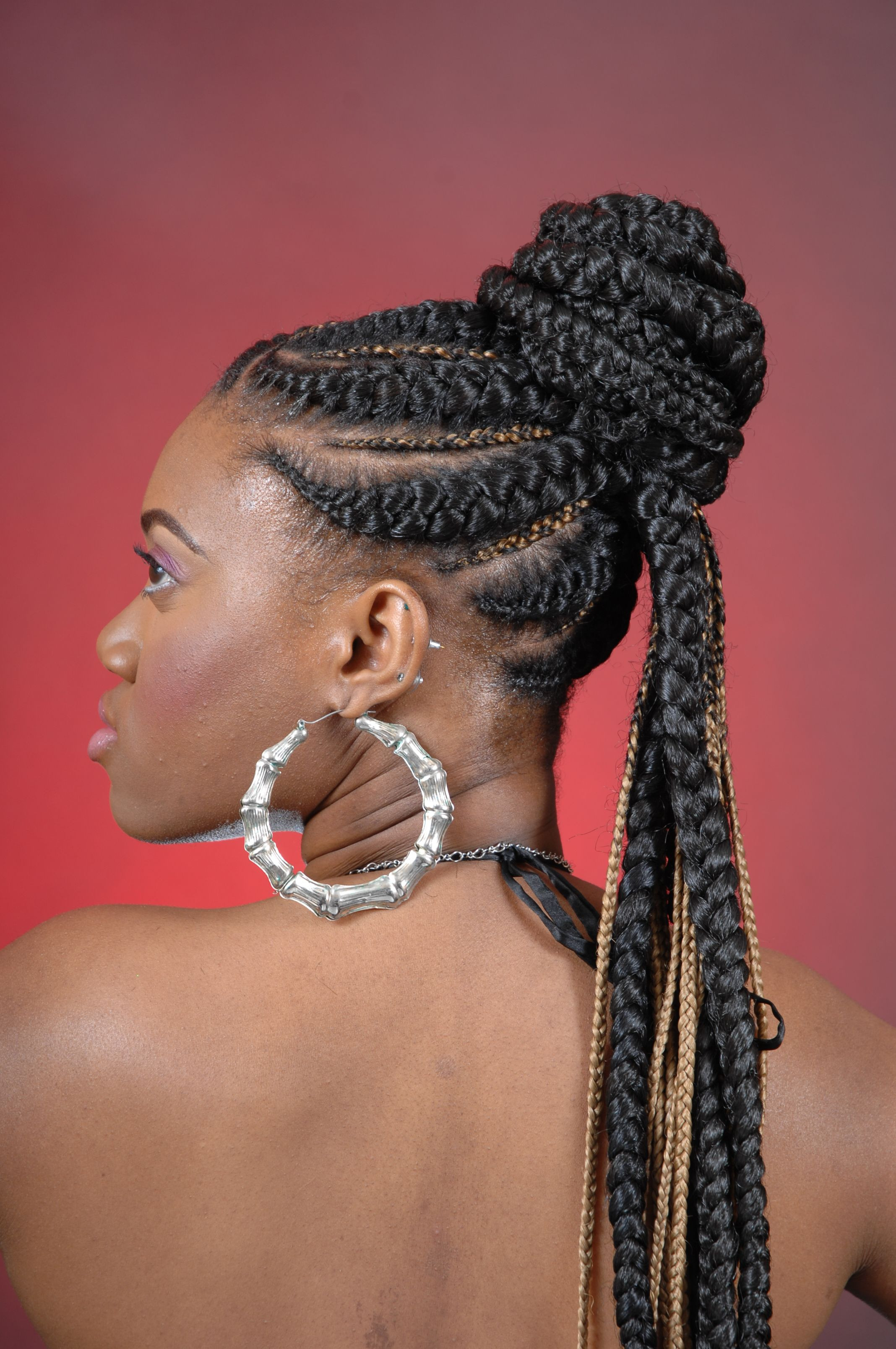 Best ideas about Natural Hairstyles Braids . Save or Pin African Braided Updos African Hair Braiding Now.