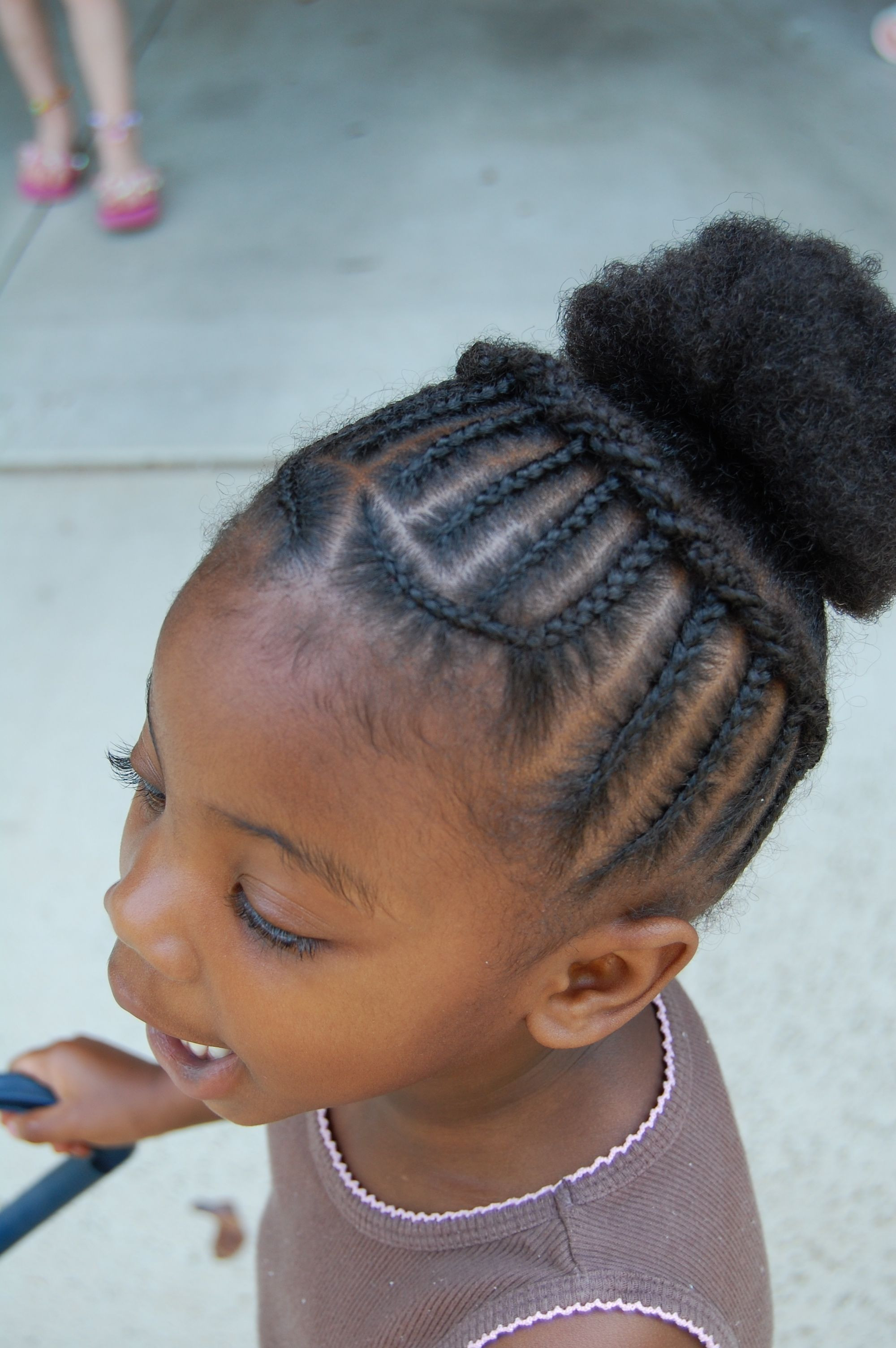 Best ideas about Natural Hairstyles Braids . Save or Pin African Princess Little Black Girl Natural Hair Styles Now.