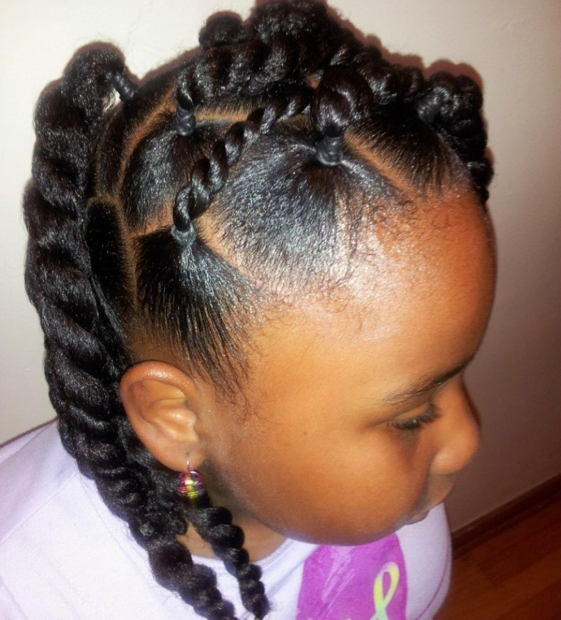 Best ideas about Natural Hairstyles For Black Kids . Save or Pin 13 Natural Hairstyles for Kids With Long or Short Hair Now.