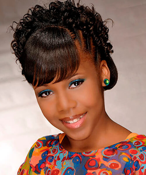 Best ideas about Natural Hairstyles For Black Kids . Save or Pin Natural hairstyles for African American women and girls Now.
