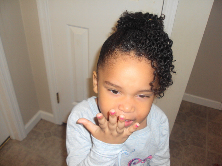 Best ideas about Natural Hairstyles For Black Kids . Save or Pin natural hairstyles for kids thirstyroots Black Now.