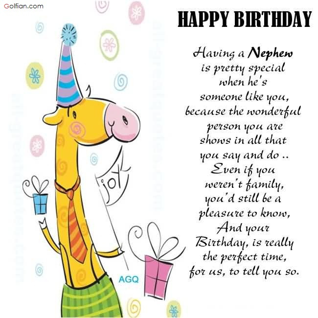 Best ideas about Nephew Birthday Quotes . Save or Pin 50 Wonderful Birthday Wishes For Nephew – Beautiful Now.