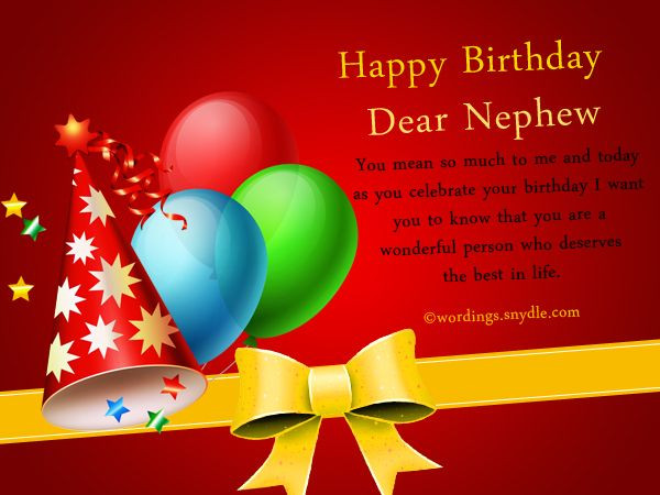 Best ideas about Nephew Birthday Quotes . Save or Pin 26 best images about Happy Birthday nephew on Pinterest Now.