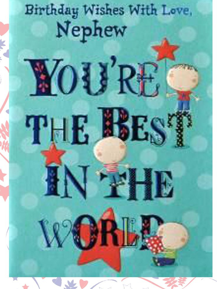Best ideas about Nephew Birthday Quotes . Save or Pin Best 25 Birthday wishes for nephew ideas on Pinterest Now.