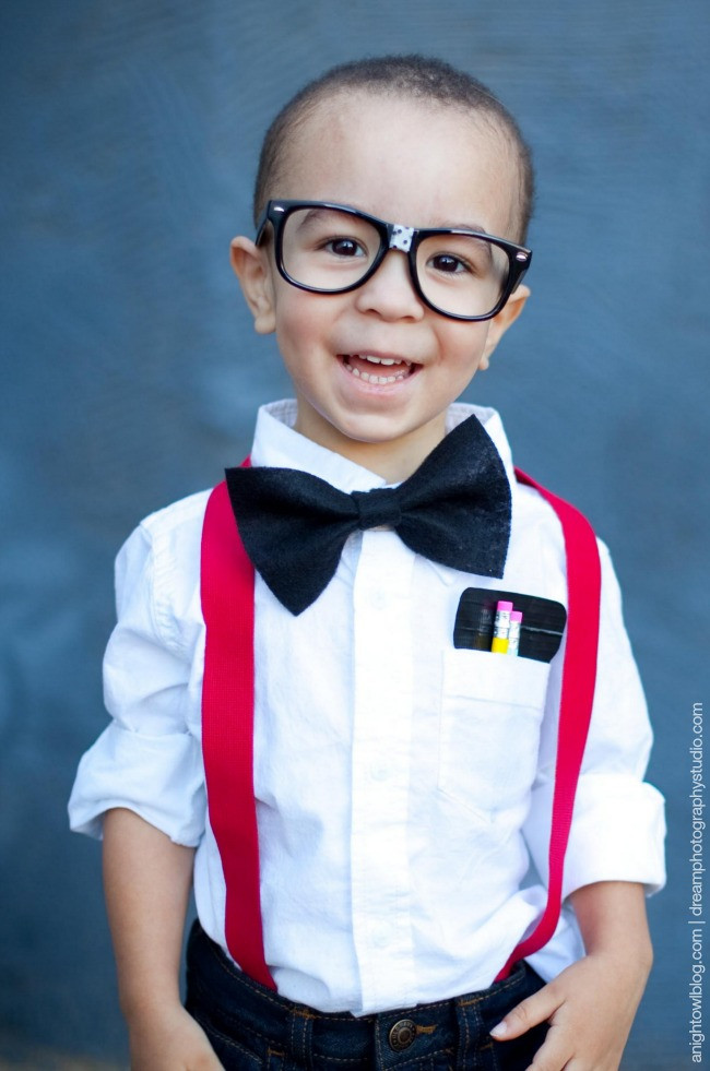 Best ideas about Nerd Costume DIY . Save or Pin LAST MINUTE DIY KID HALLOWEEN COSTUMES Now.