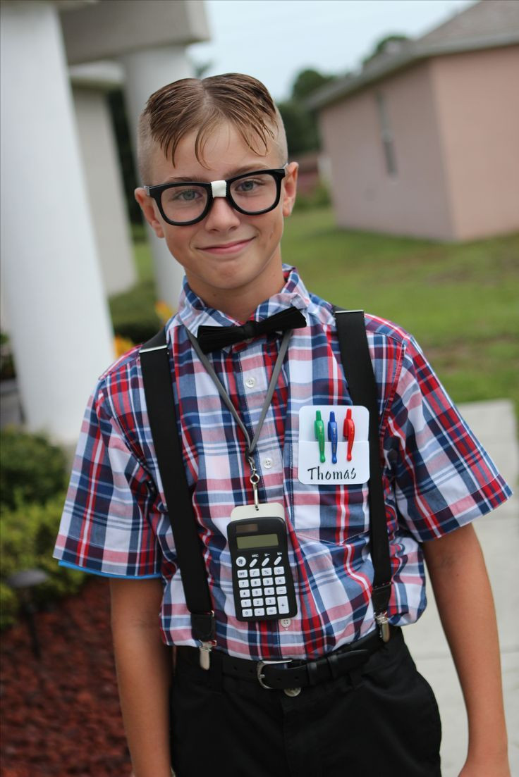 Best ideas about Nerd Costume DIY . Save or Pin The 25 best Teen boy costumes ideas on Pinterest Now.