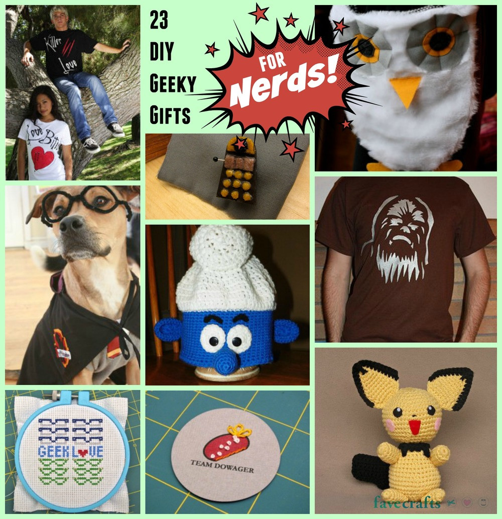 Best ideas about Nerd Gift Ideas . Save or Pin 23 DIY Geeky Gifts for Nerds Now.