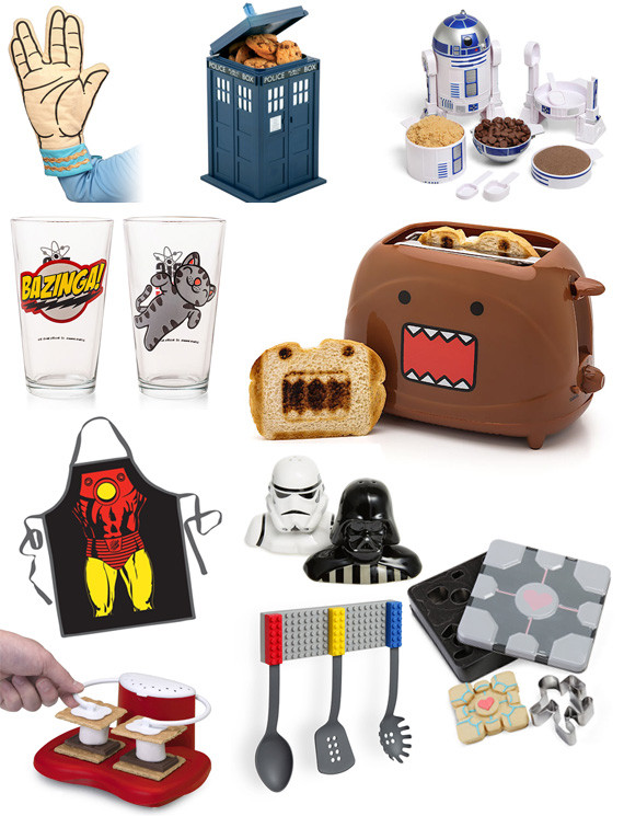 Best ideas about Nerd Gift Ideas . Save or Pin Gift Ideas For Your Geek in the Kitchen – Cool Gifting Now.