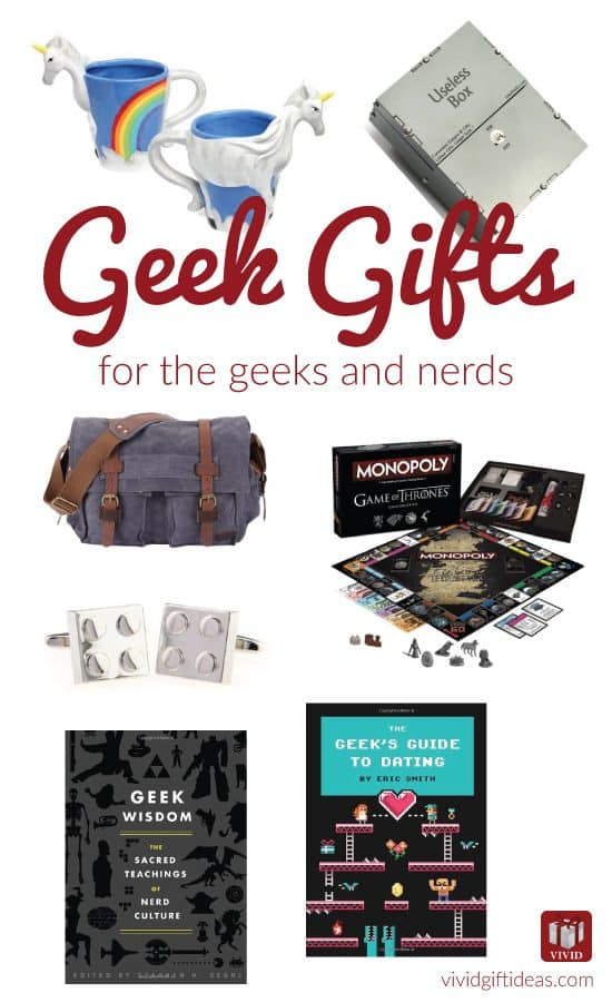 Best ideas about Nerd Gift Ideas . Save or Pin 9 Cool Gifts for Geeky Guys Vivid s Gift Ideas Now.