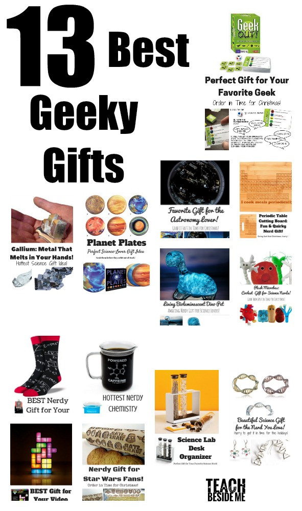 Best ideas about Nerd Gift Ideas . Save or Pin 13 Nerdy Gifts for the Geeks in your Life Teach Beside Me Now.