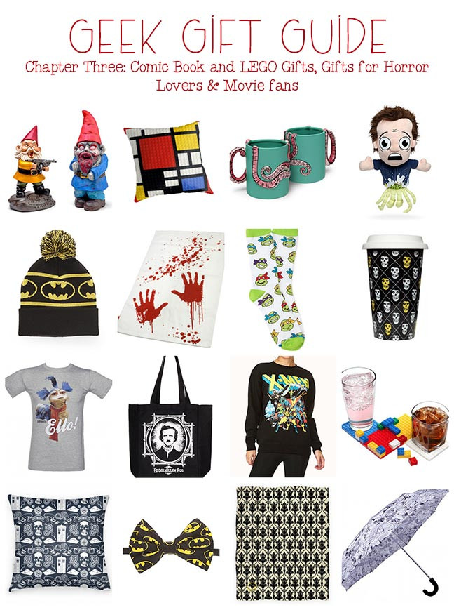 Best ideas about Nerdy Gift Ideas . Save or Pin Geek Gift Ideas Chapter Three ic Book ts Now.