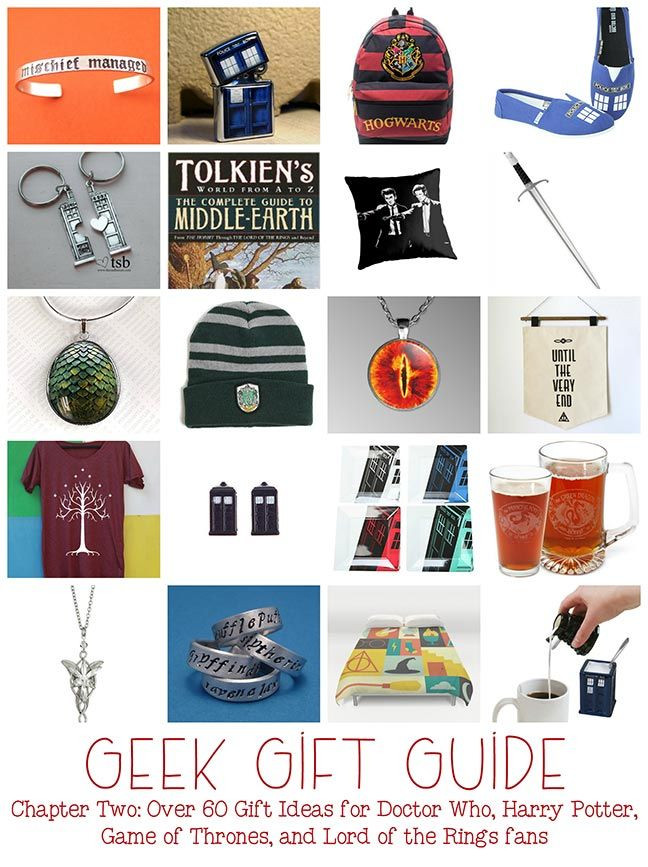 Best ideas about Nerdy Gift Ideas . Save or Pin Geek Gifts Gifts for Doctor Who Harry Potter Game of Now.