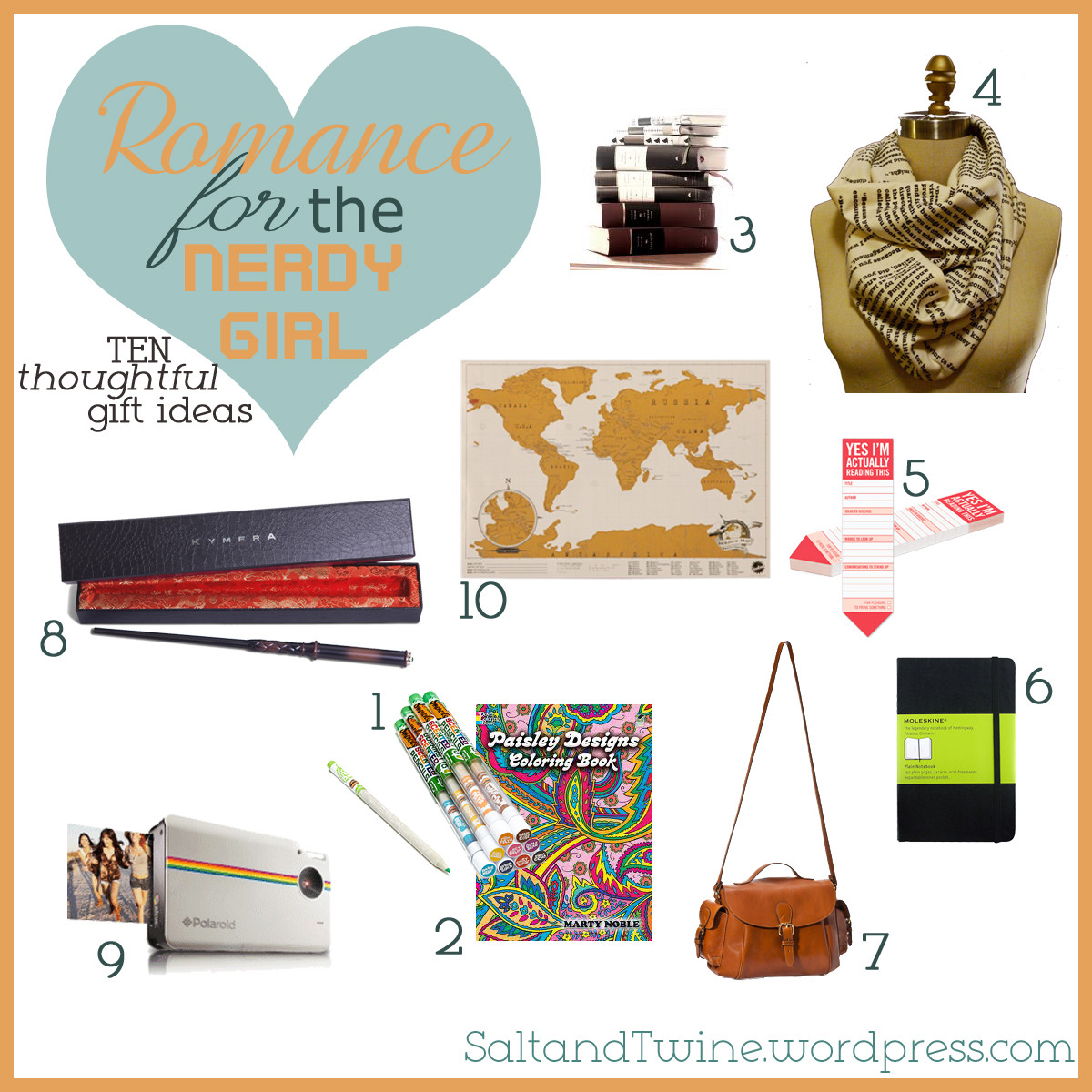 Best ideas about Nerdy Gift Ideas . Save or Pin Valentine Confessions of a Nerdy Girl & 10 Gift Ideas Now.