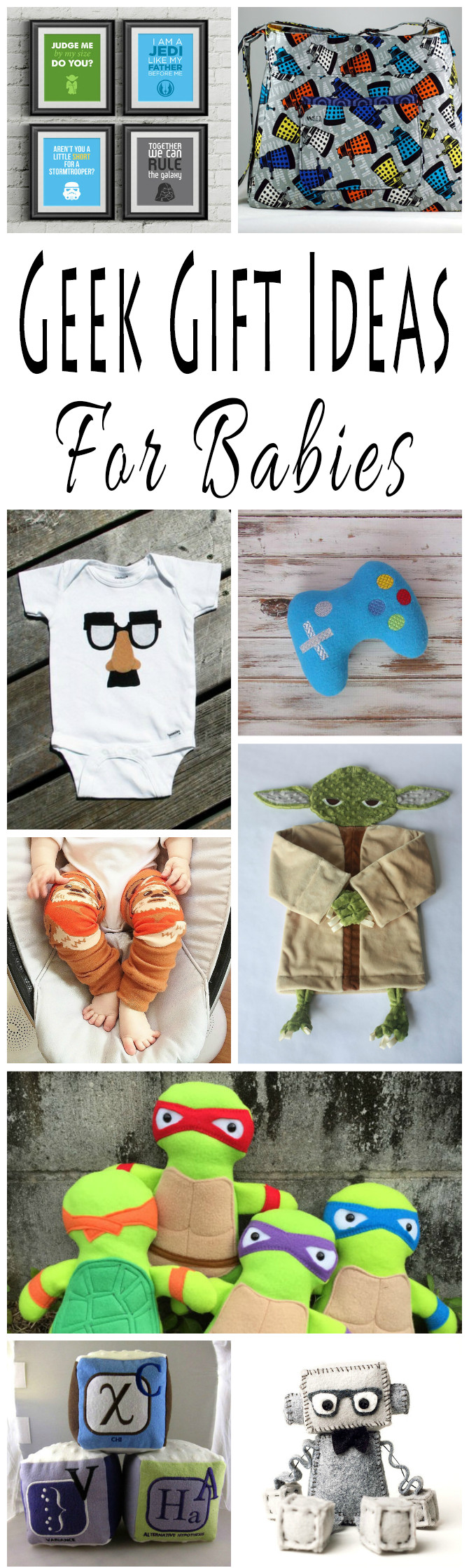 Best ideas about Nerdy Gift Ideas . Save or Pin 25 Adorkable Geek Gift Ideas For Babies Now.