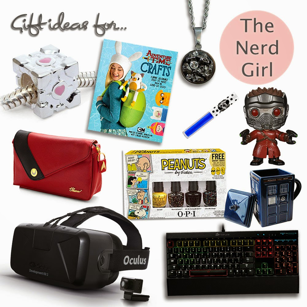 Best ideas about Nerdy Gift Ideas . Save or Pin Christmas Gift Guide Ideas for Nerdy Geek Girls Now.