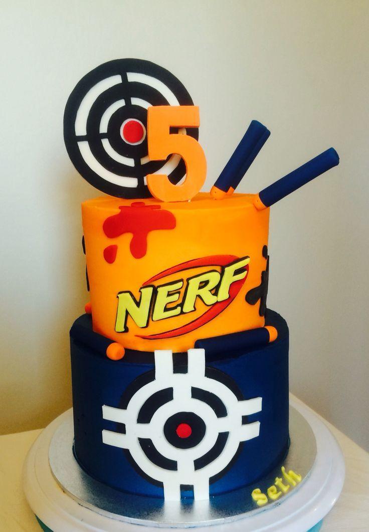 Best ideas about Nerf Gun Birthday Cake . Save or Pin Идей на тему Nerf Cake в Pinterest 17 лучших Now.