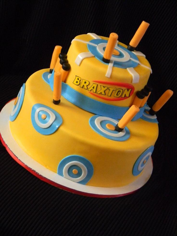 Best ideas about Nerf Gun Birthday Cake . Save or Pin 17 Best ideas about Nerf Cake on Pinterest Now.