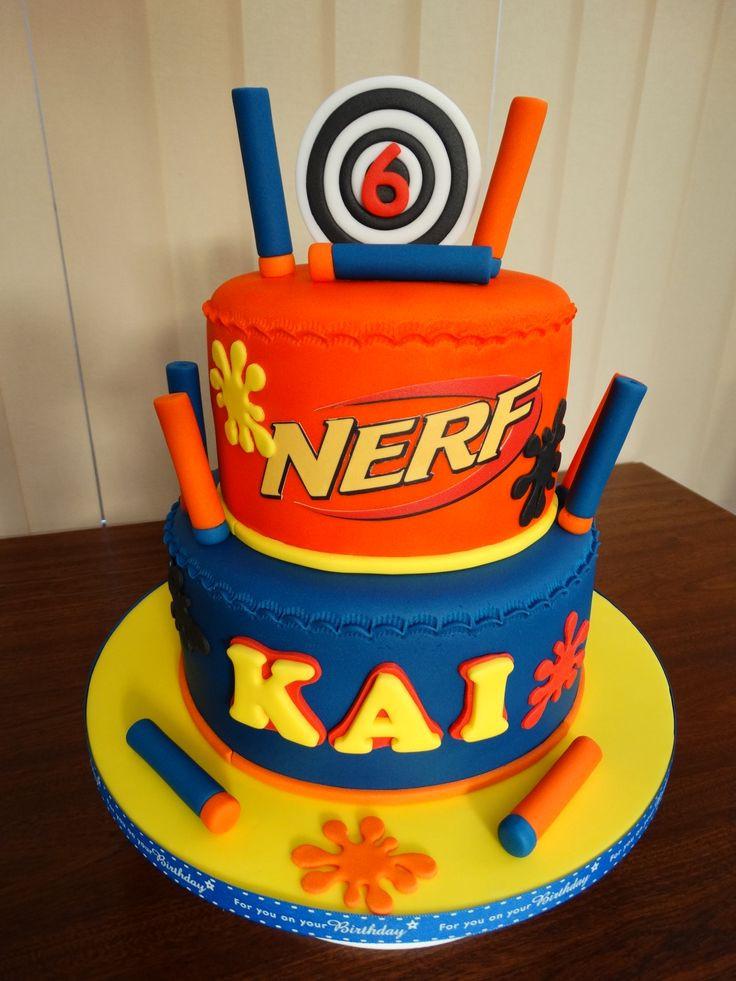 Best ideas about Nerf Gun Birthday Cake . Save or Pin Best 25 Nerf gun cake ideas on Pinterest Now.
