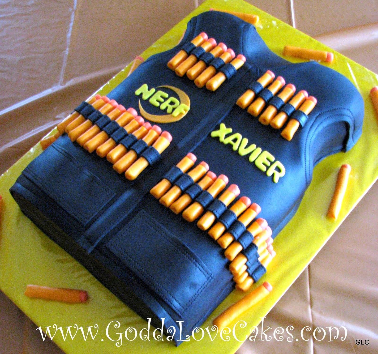 Best ideas about Nerf Gun Birthday Cake . Save or Pin nerf birthday cake photos neuloajunklens overblog Now.