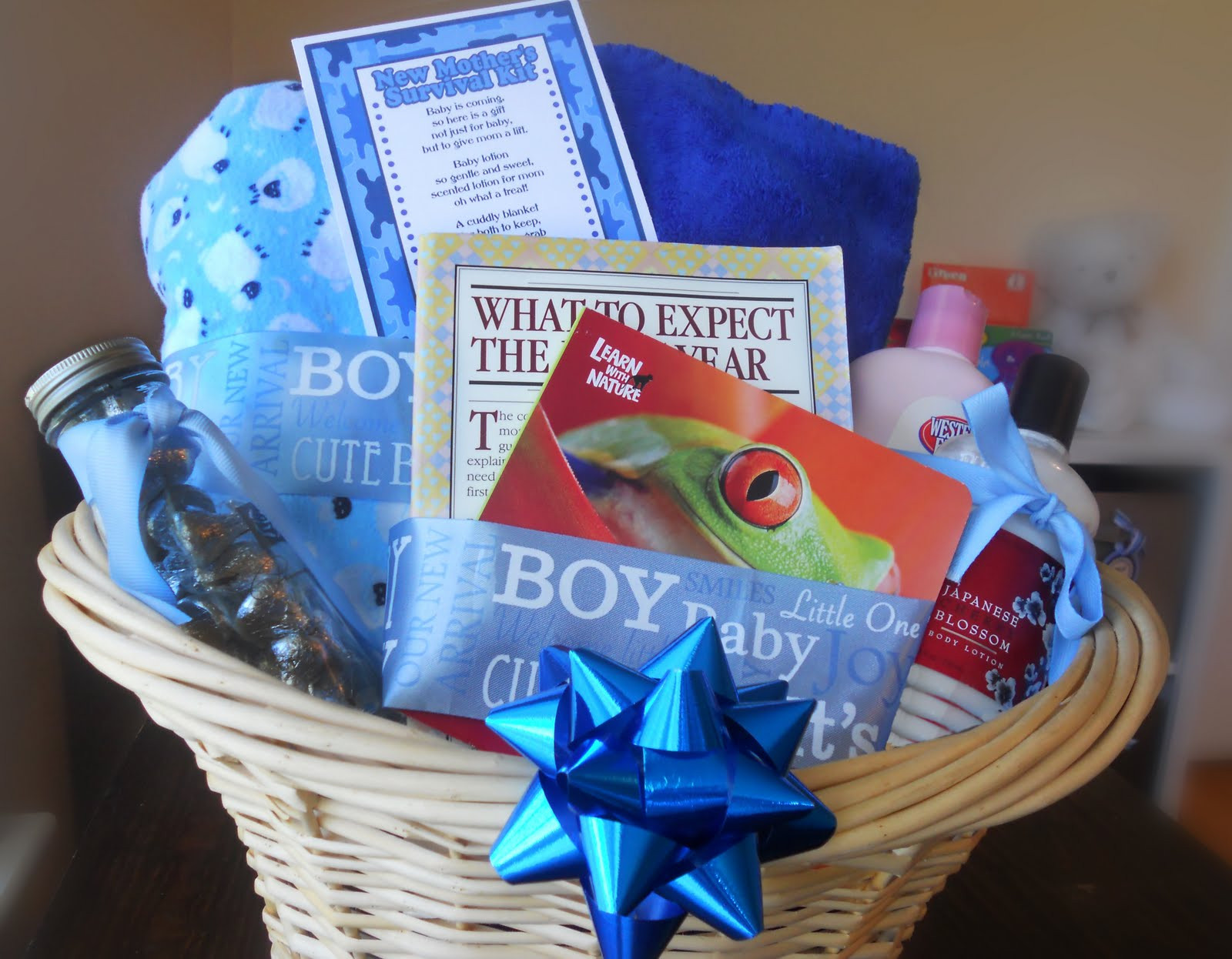 Best ideas about New Baby Boy Gift Ideas . Save or Pin Baby Shower Gift Survival Kit Darling Doodles Now.