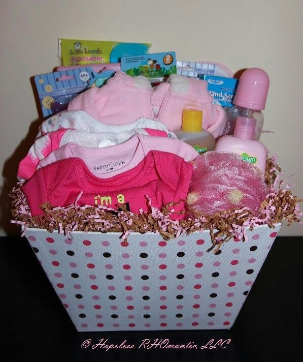Best ideas about New Baby Girl Gift Ideas . Save or Pin Best 25 Baby t baskets ideas on Pinterest Now.