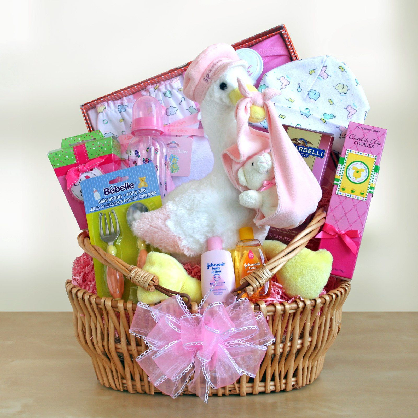Best ideas about New Baby Girl Gift Ideas . Save or Pin Have to have it Special Stork Delivery Baby Girl Gift Now.