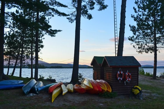 Best ideas about New England Outdoor Center . Save or Pin Canoes kayaks and equipment shed Picture of New England Now.
