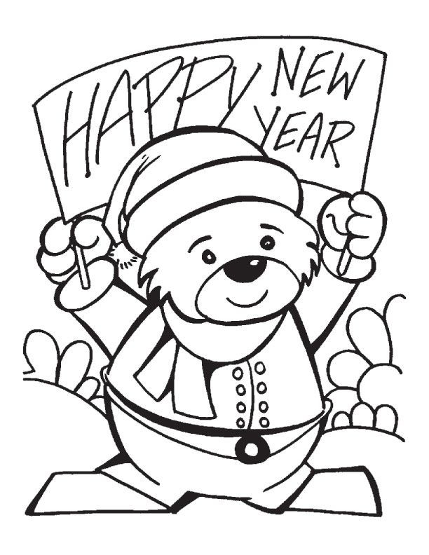 Best ideas about New Years Printable Coloring Sheets . Save or Pin New Years Day Coloring Pages Coloring Home Now.