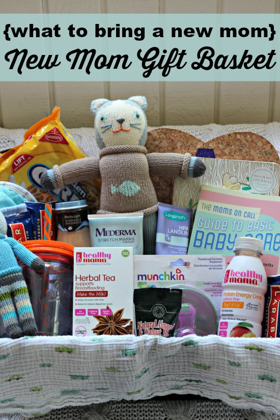 Best ideas about Newborn Baby Gift Ideas For Parents . Save or Pin what to bring a new mom New Mom Gift Basket Southern Now.