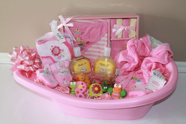 Best ideas about Newborn Baby Girl Gift Ideas . Save or Pin 1000 ideas about Homemade Gift Baskets on Pinterest Now.