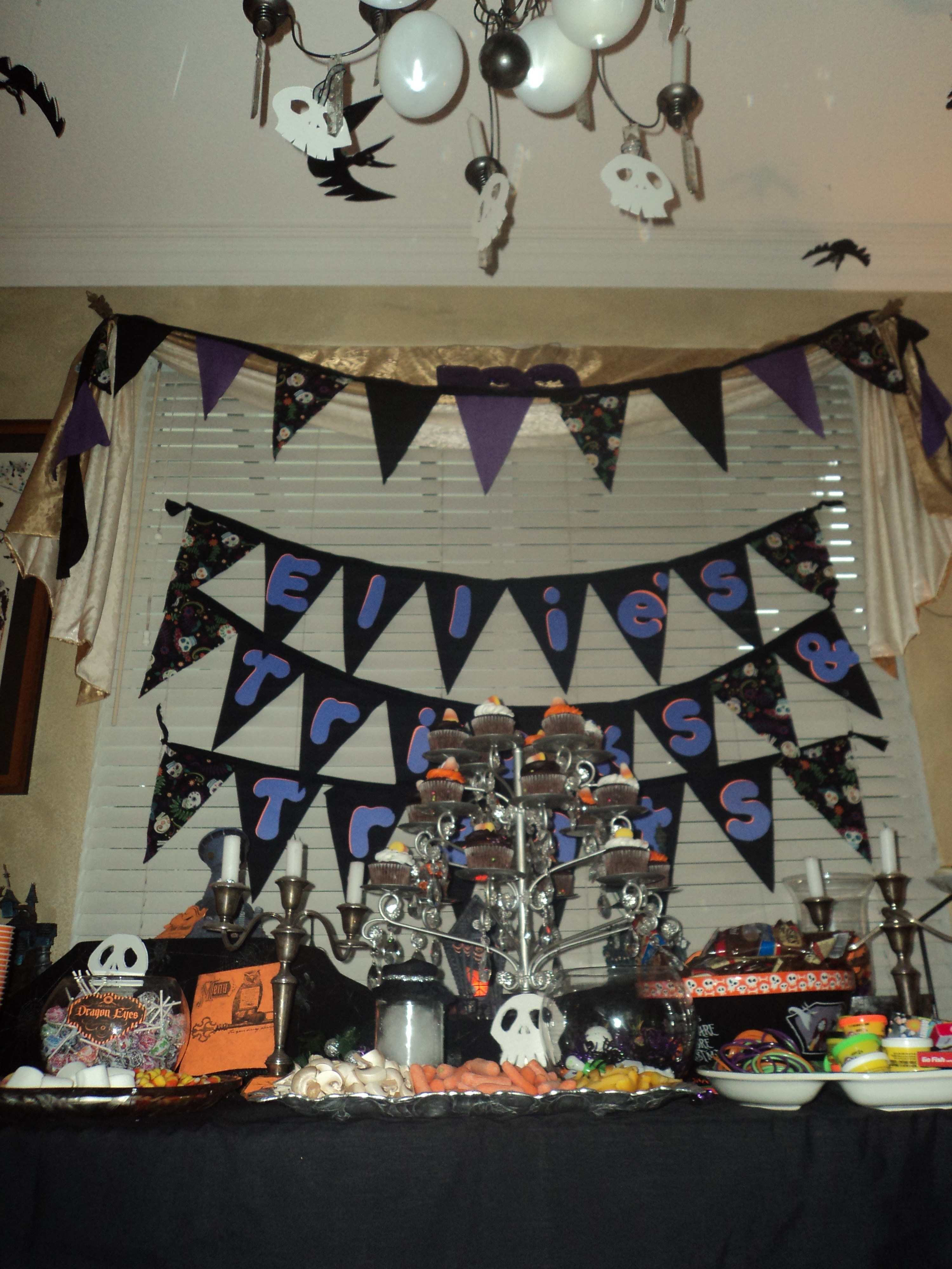 Best ideas about Nightmare Before Christmas Birthday Decorations . Save or Pin How to throw a girls Nightmare Before Christmas Party Now.
