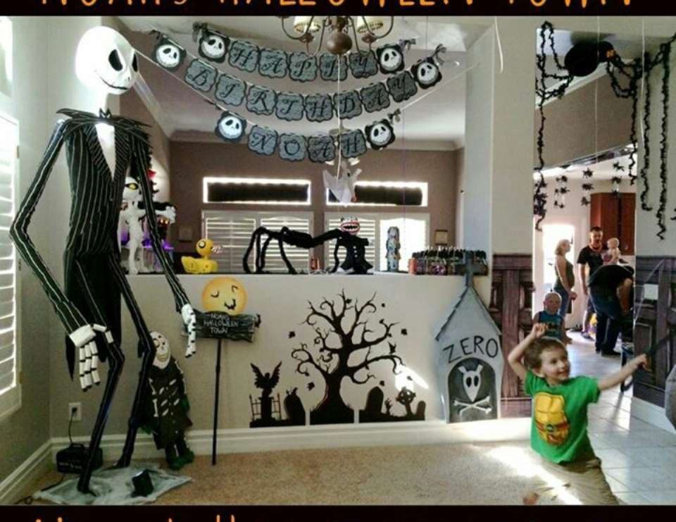 """Best ideas about Nightmare Before Christmas Birthday Decorations . Save or Pin Nightmare Before Christmas Birthday """"Noah s 5th Birthday Now."""