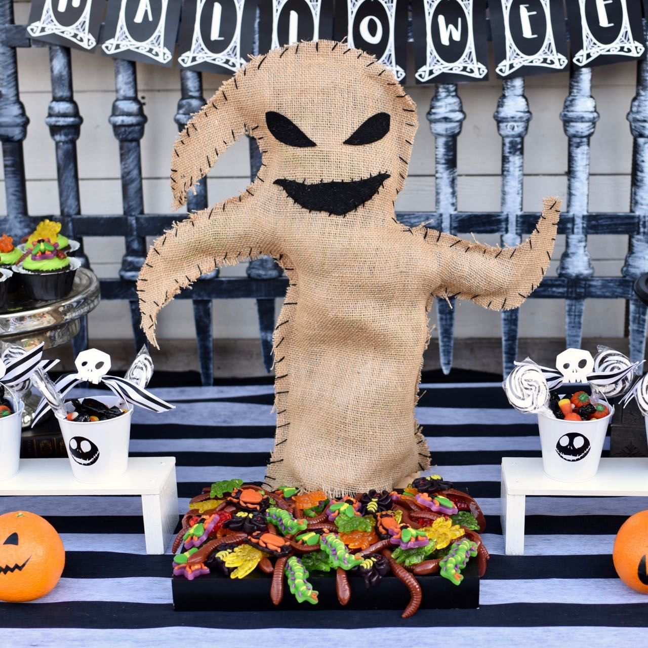 Best ideas about Nightmare Before Christmas Birthday Decorations . Save or Pin Nightmare Before Christmas Party Favors Make Life Lovely Now.